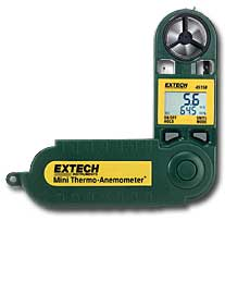 Extech 45158 Mini Thermo-Anemometer plus Humidity Pocket Wind Meter w/ FREE UPS