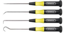 General Tools 60004 4pc Precision Blade Probe Set