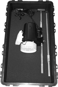 Ambient Weather Pelican VP2PELICAN2 Watertight, Crushproof and Dust Proof Wheeled Case with Pick 'N' Pluck Foam for Davis Vantage Pro2 Weather Stations - BLACK - (Discontinued)