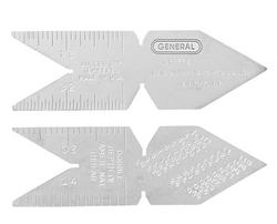 General Tools CF778 Center Gage