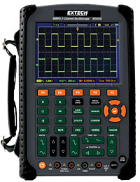 Extech Instruments MS6060 60MHz 2-Channel Digital Oscilloscope
