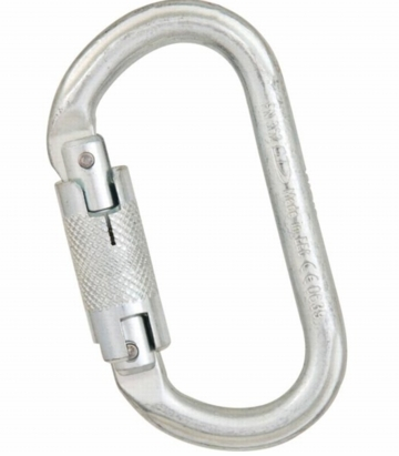 Liberty Mountain Steel 30kN Oval Twist Lock
