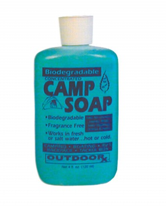 Outdoorx Camp Soap 4oz