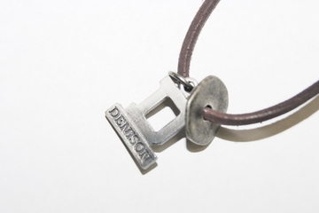 Denison Leather Cord Necklace Brown