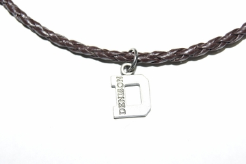 Denison Woven Necklace Brown