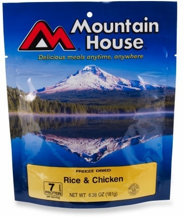 Mountain House Rice and Chicken- Serves 2