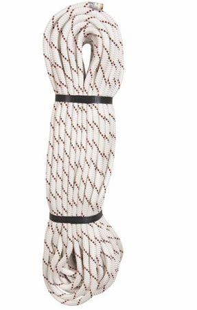 Edelweiss Static (Low Stretch) Rope 10.5mmX150' Caving White