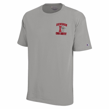 Denison Champion Cross Country TShirts Oxford Grey
