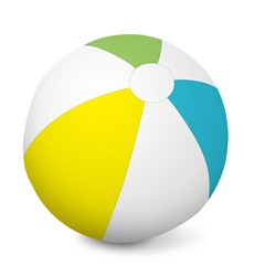 """Inflatable Ball 16"""",  24"""" or 46"""" Diameter"""
