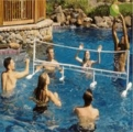 Super Combo Water Volleyball & Badminton Game
