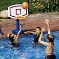 Jammin Poolside Basketball Game