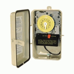 120V-IN/OUT CLOCK W/HEAT DELAY