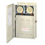 POWER CTRL PANEL W/2 TIME CLOCK