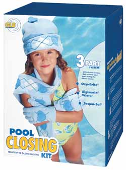 GLB Pool Closing Kit, up to 12,000 Gallons