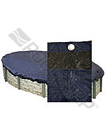 Basic Pool Cover 16; x 32' Oval