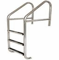 Commercial Cross Brace 4 Tread Ladder with Steps
