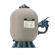 """24 in. Polymeric Filter with side valve 2"""""""