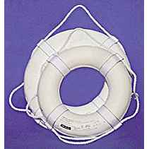 Jim Buoy USCG Approved Life Ring, 24in.