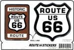 Route 66 Stickers