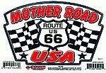 Mother Road USA Sticker