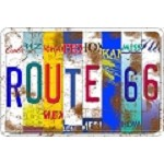 Route 66 States Parking Sign+