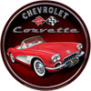 Chevrolet Corvette Sign