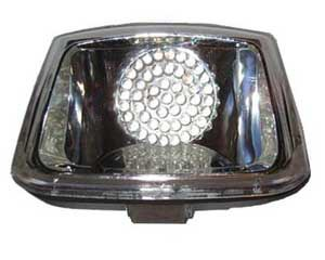 RADIANTZ L.E.D. replacement taillight with clear lens for Harley Davidson Deuce models