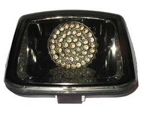 RADIANTZ Replacement L.E.D. taillight with smoked lens for all Harley Davidson V-Rod models.