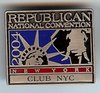 Rare, Delegate Lapel Pin from the Republican National Convention of the Year 2004 in New York: