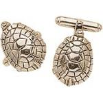 Solid Sterling Silver Turtle Cuff Links