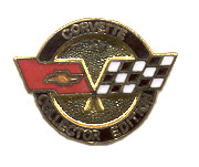 Rare, Vintage, One Pair of Limited Edition, Corvette Collector Cufflinks