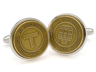 Subway Map Cufflinks.Transit Token Cufflinks