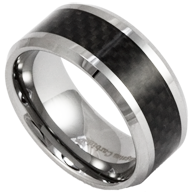 Tungsten and Carbon Fiber Rings