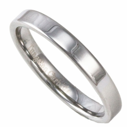 3MM Pipe Cut Men's or Women's Tungsten Wedding Ring (Unisex)
