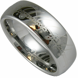 Lord of the Rings (LOTR) Original Finish Tungsten Ring