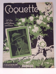 Collectible Sheet Music Coquette