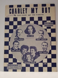 Collectible Sheet Music Charley My Boy
