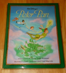 Walt Disney's Peter Pan by J. M. Barrie (1994, Hardcover)