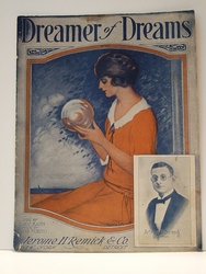 Collectible Sheet Music Dreamer of Dreams