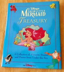 Disney's The Little Mermaid Treasury Disney Press Hardcover 176 pages