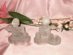M I Hummel Angel Candle Holders