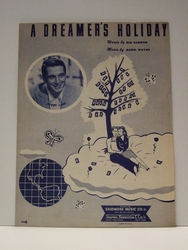 Collectible Sheet Music A Dreamer's Holiday