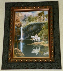 Somewhere Magical Art Print in Gallery Frame by Gary Lippincott (c. 2005)