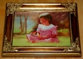 Donald Zolan First Miniature Canvas Transfer Spring Duet Limited Edition 1994