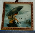 Donald Zolan Framed Miniature Touching The Sky 6th issue