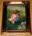 Donald Zolan First Miniature Canvas Transfer Daisy Days Limited Edition 1992