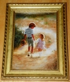 Donald Zolan Miniature Lithograph Country Walk Single Issue