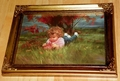 Donald Zolan Miniature Canvas Replica September Girl 1993