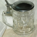 Crystal Beer Stein 16 oz by Leonard Silver Manufacturing