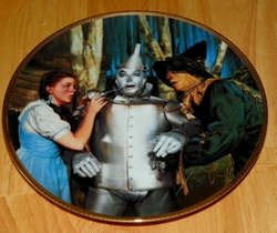 Collector Plate Wizard of Oz Commemorative The Tin Man Speaks by Thomas Blackshear
